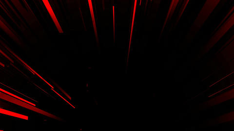 red line burst Animation