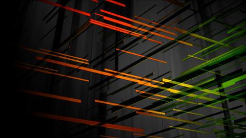 3d line colors Animation