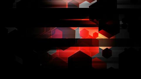 spot lights hexa Animation