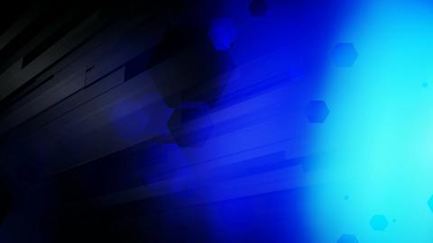 blue lights burst Animation