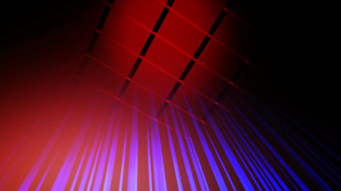 red blue grid Animation