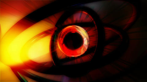 eye ball machine Animation