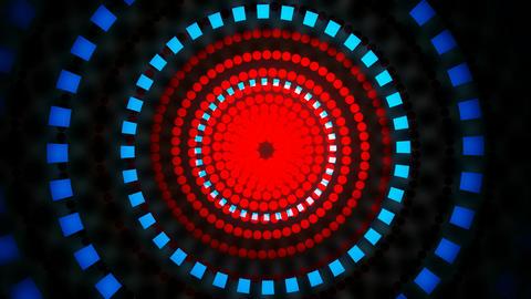 neon hypontize lights Animation