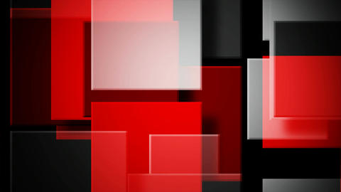 red white square Animation