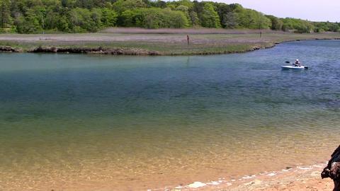 Kayaker Scorton Creek Sandwich Cape Cod Footage