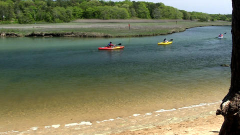 Scorton Creek kayak adventure Sandwich Cape Cod; 3 Footage