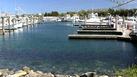 Boats slips docks marina Cape Cod; 2 Footage
