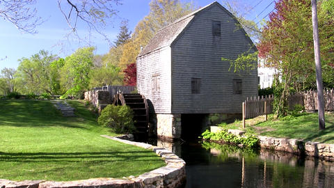 Grist mill 3 Footage