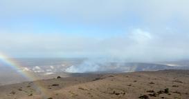 Time lapse of Kilauea Volcano Footage