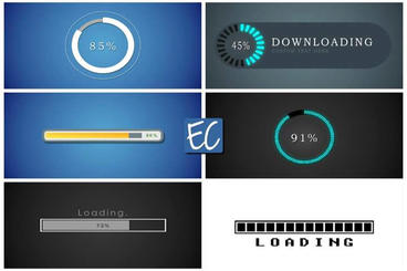 Loading Bars v 1 0 Editing Corporation After Effects Project