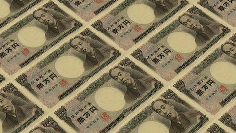 10000 japanese yen,Printing Money Animation Animation