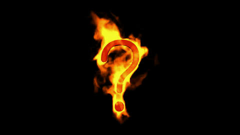 fire Question mark Animation