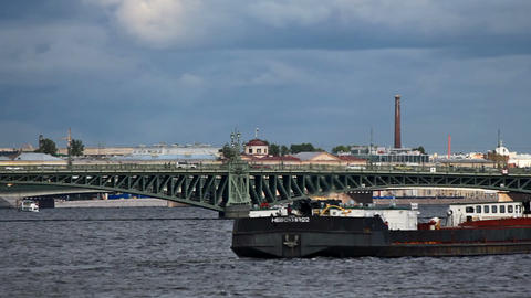 Trinity Bridge Stock Video Footage