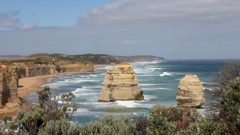 The 12 Apostles Stock Video Footage