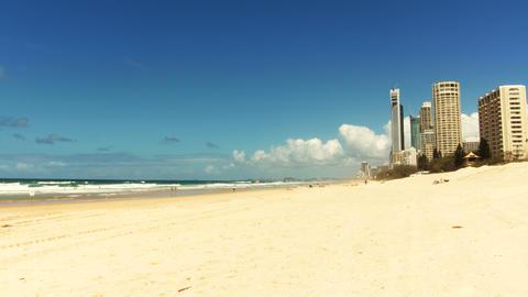 Timelapse. Gold Coast, Queensland. Australia Stock Video Footage