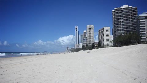 Gold Coast, Queensland. Australia Footage