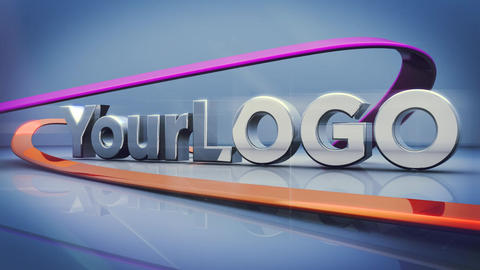Your Logo Stock Video Footage
