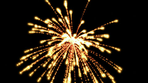 fireworks at night,holiday and wedding Stock Video Footage