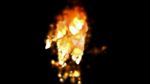 Explosion,Fireworks,flame,gas,battlefield,fighting,fuel,c... Stock Video Footage