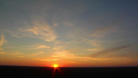 10693 sundown wide slow time lapse Stock Video Footage