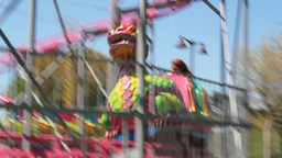AMUSEMENT PARK Stock Video Footage