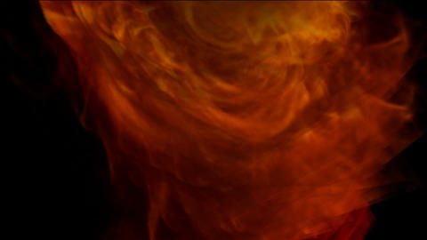 red fire tornado,2012,end of the world,explosion,Volcanic... Stock Video Footage