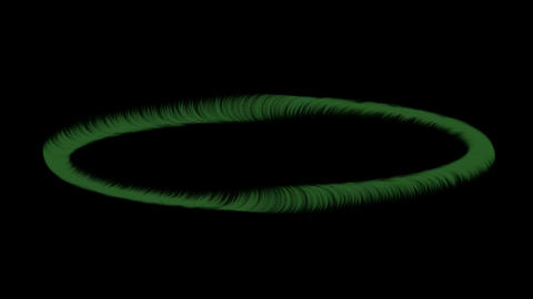 Rotating ring,swirl round in space,fiber,antenna,energy... Stock Video Footage