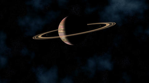 Saturn Stock Video Footage