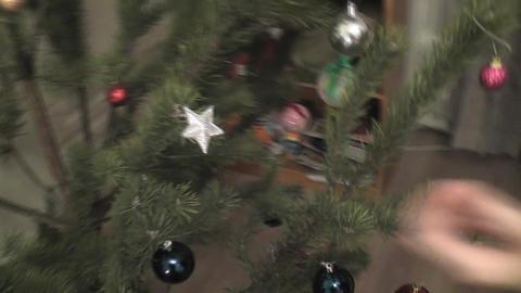 star christmas girl Stock Video Footage