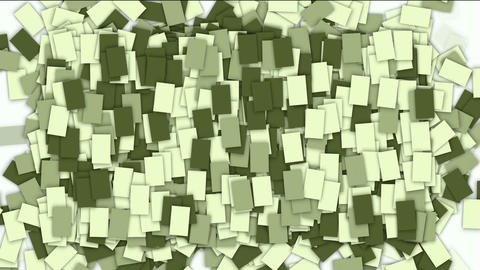 square paper and mosaics wallpaper Animation