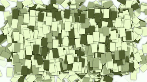 square paper and mosaics wallpaper Stock Video Footage