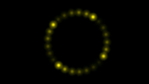 golden circle... Stock Video Footage