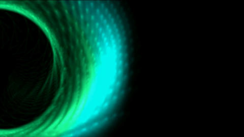 rotation angel wings,turbine tunnel... Stock Video Footage