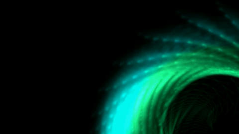 shine peacock or angel wings,gear,mixer,fiber optic probe Stock Video Footage