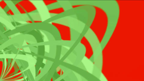 green helix lines,spiral fiber optic cable,mixing... Stock Video Footage