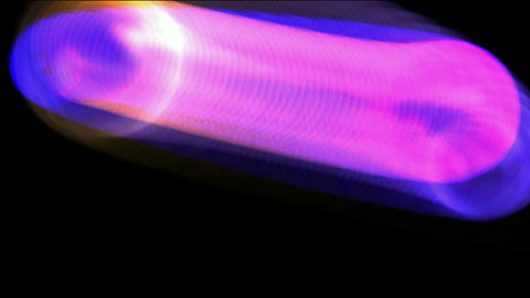 rolling tube and flare grid ray light,laser tube... Stock Video Footage