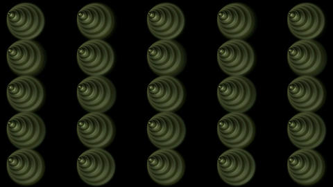 rotation metal ball and cone,Screws nails,button Stock Video Footage