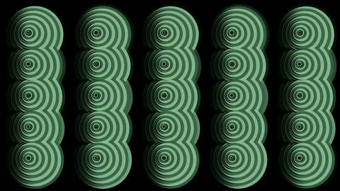 moving circle ripple cloud pattern,Eastern classical... Stock Video Footage