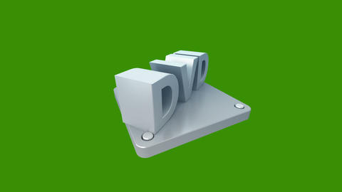 3d icon on green background Animation