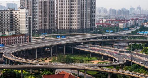 4K China Turnpike Time Lapse Footage