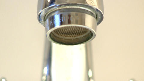 Leaky faucet tap macro; 2 Live Action