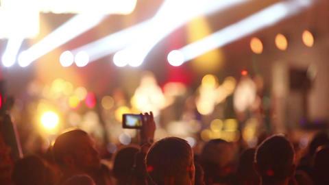 Rock Concert Footage