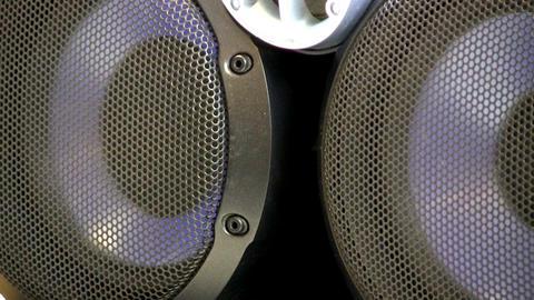 Bookshelf speakers Footage