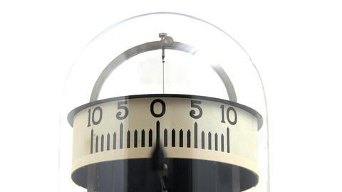 Vintage physics lab galvanometer; 4 Footage