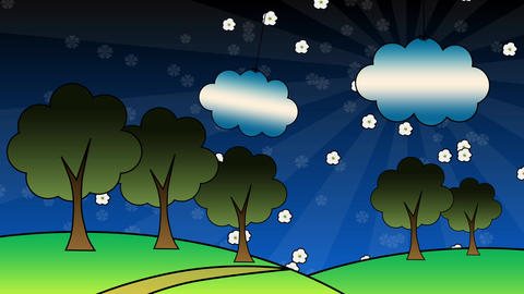 Children Spring Animation