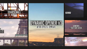 Dynamic Media Opener v3 After Effects Template