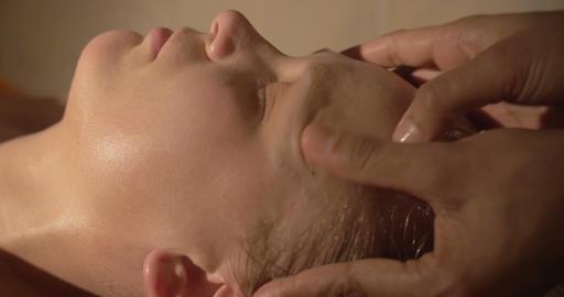 Face Massage Footage