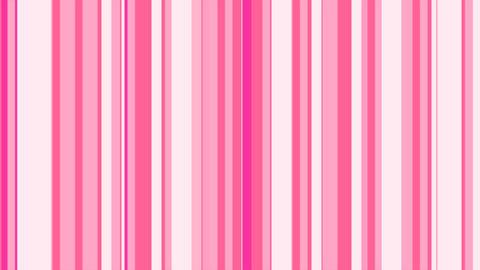 Stripes Pop Pink ストライプ CG動画