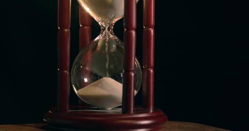 Hourglass In Slow Motion stock footage