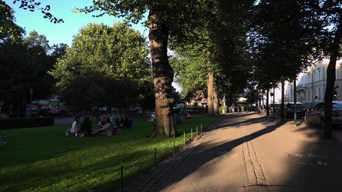 Leisure Park in Helsinki. 4K Footage